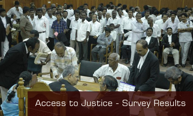 Access to Justice - Survey Results